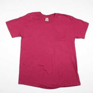 Vintage 80s 90s Hanes One Pocket T-Shirt